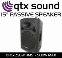 ABS PA-Speaker 15inch QR15 2 stuks