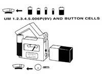Batterij Tester klein