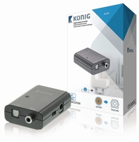 Digitale audio converter S/PDIF<>Toslink