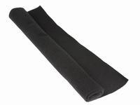 Hoedeplankstof zwart 75x150cm.