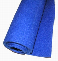 Hoedeplankstof blauw 75x150cm.