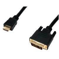 HDMI <> DVI-D kabel gold 5 mtr.