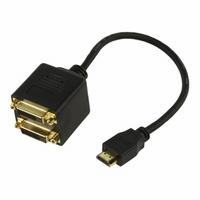 HDMI Splitter<>2 x DVI-D