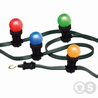 LED kogellamp geel E27