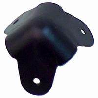 Hoekbeschermer zwart metaal