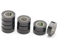 Isolatie tape PVC zwart 10mtr.
