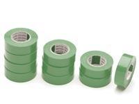 Isolatie tape PVC groen 10mtr.