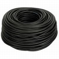 H05VV-F 3x1,5mm²  1mtr. zwart