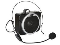 Buikversterker op accu met MP3 speler