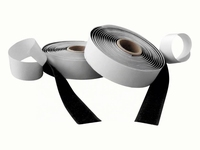 Klittenband 2 delig 3 x 10cm zwart
