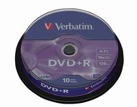 DVD+R 120min 4,7Gb 10stuks