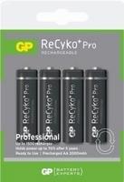 GP 4 stuks 2000mAh AA Recyko Pro
