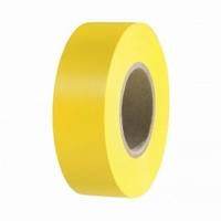 Isolatie tape PVC geel 10mtr.