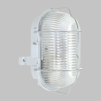 Buitenlamp Ovaal E27 60W.
