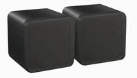 E audio 4Inch mini speakers zwart
