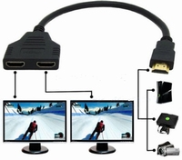 HDMI-splitter kabel 2-weg
