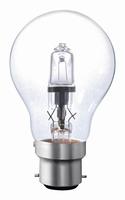 Bajonetlamp B22 18W. <> 25W.