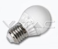 LED Lamp E27 3Watt kogel