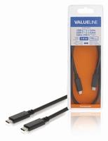USB-C <> USB-C kabel 1mtr.