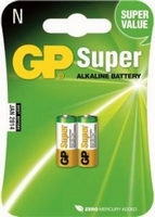 GP LR1-N alkaline 1,5V. 2-stuks