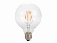 Globe G95 filament LED-lamp E27 4 watt