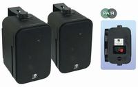 E audio 3,5Inch mini speakers zwart