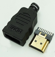 HDMI stekker los soldeerbaar lc