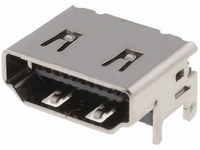 HDMI chassisdeel SMD 90gr.