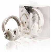 Hoofdtelefoon/headset stereo wit