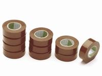 Isolatie tape PVC bruin 10mtr.