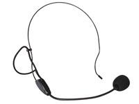 Headset microfoon voor buikversterker