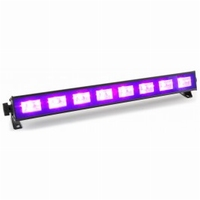 Blacklight UV LED-verlichting 8x3Watt
