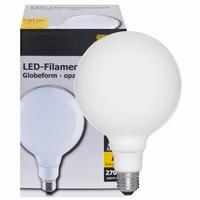 LED G95 E27 5,5W Dimbaar