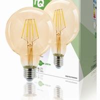Globe G95 filament LED-lamp E27 2.8 Watt