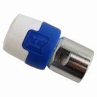 Coax quick-fix F-connector per stuk
