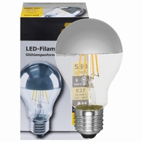 LED Kopspiegellamp E27 6Watt.
