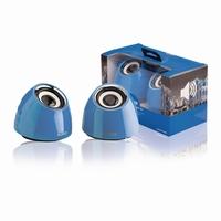 PC Speakerset 2.1 blauw