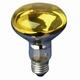 Reflectorlamp E27 60W. geel