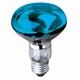 Reflectorlamp E27 60W. blauw