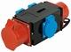 CEE 16A 3xSchuko Splitter