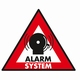 Security Stickers 5xAlarmsystem