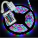 Led strip R/G/B 5mtr. + controller 12Vdc