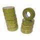 Isolatie tape PVC geel/groen 10mtr.