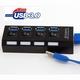 USB 3.0 Hub 4-poorts wit