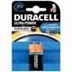Duracell 9V blokbatterij M3 Ultra