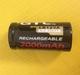 Oplaadbare Li-Ion batt. LR123A 3,6V. 2000mAh.