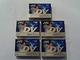 mini-DV casette JVC 60-min 5-pack