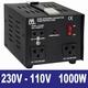 Omvormer 230Vac- 110Vac 1000Watt