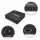 HDMI Splitter 2 port + voeding