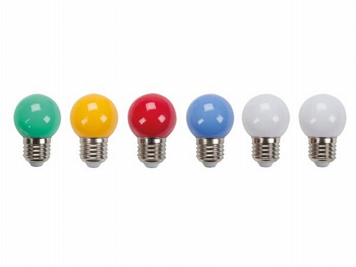 Gekleurde Led Lampen : Gekleurde led lampen e x